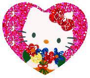 imagenes de hello kitty que brillen dibujos animados de hello kitty gifs de hello kitty