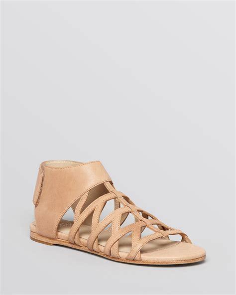 beige gladiator sandals eileen fisher flat gladiator sandals nest in beige sand