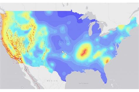 around the us interactive map interactive map of earthquakes around the world american