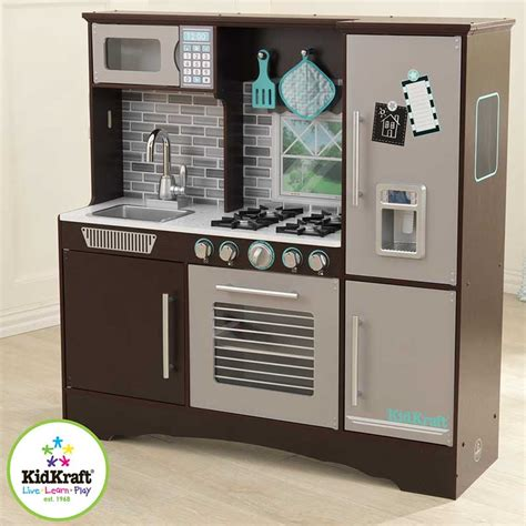 kidkraft culinary kitchen in espresso 3 years costco uk