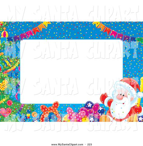 Clipart Border Of Gifts And by Gift Border Clip 27