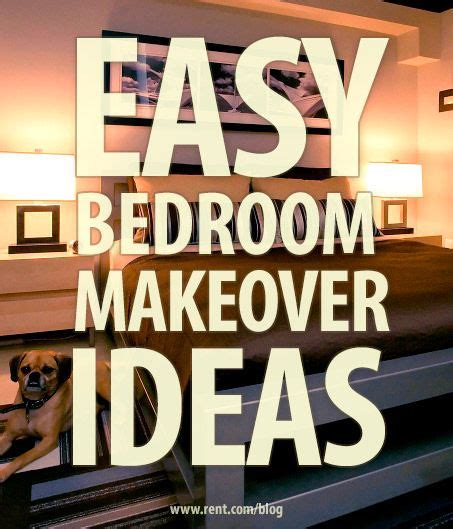 bedroom makeover ideas quick