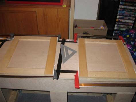 Diy Kitchen Cabinet Doors Wood Shooting Bench Plans Plywood Drop Work