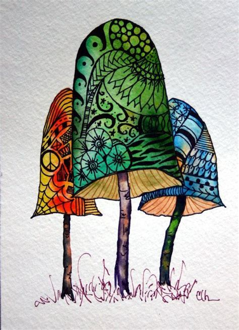 watercolor zentangle tattoo 338 best images on ideas