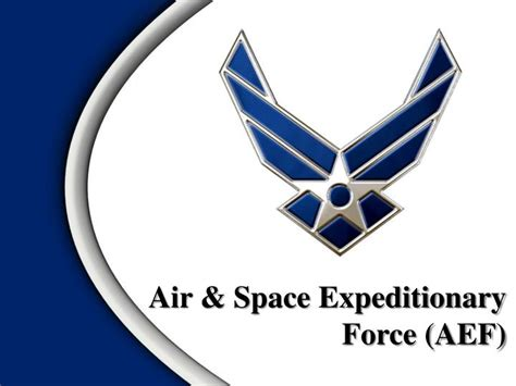 ppt air space expeditionary force aef powerpoint