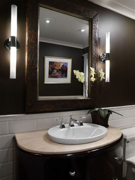 powder room accent wall ideas bathroom excellent guest powder room design to shown