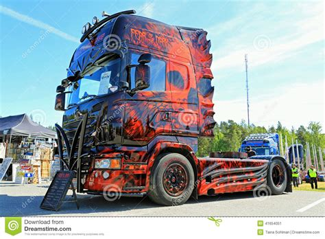 truck shows uk the fear of the heavy truck winner editorial