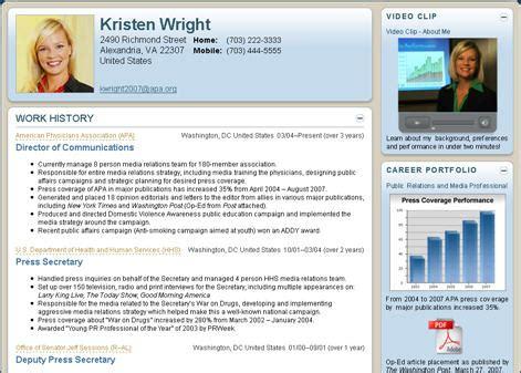 format of a presentable cv visualcv the nextgen online resume maker megaleecher net