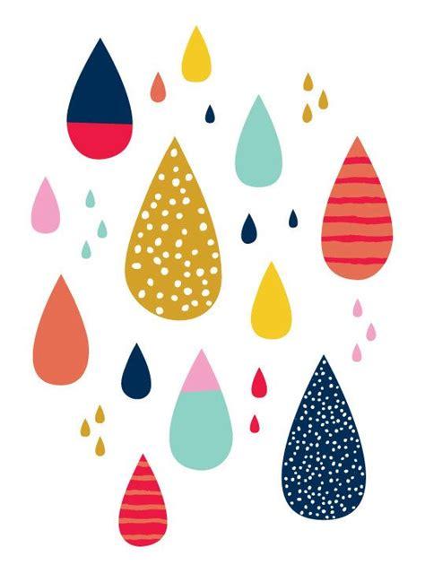 wallpaper colorful raindrops colorful raindrops 5 quot x7 quot print by let s die friends via