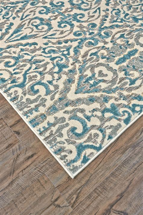 feizy keats turquoise 2 2 quot x 4 rug 70 you save 22 00