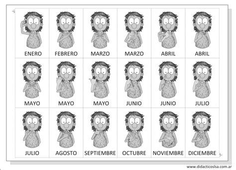 K En El Calendario Juegos Y Material Did 225 Ctico En Lengua De Se 241 As Argentina
