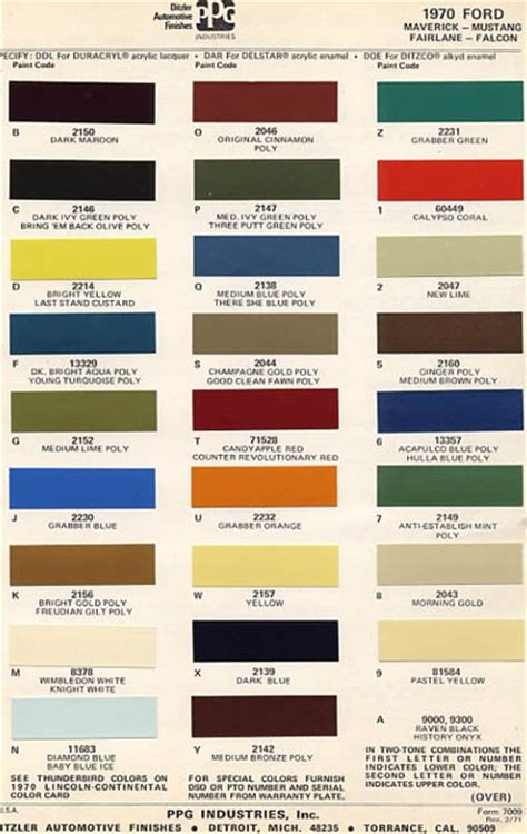 5 best images of 1966 mustang interior color chart 1965 mustang interior color chart 1966