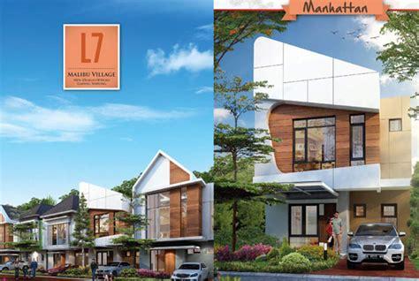 malibu village  design option gading serpong paramount land