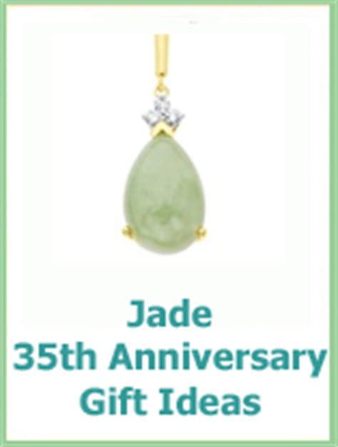 Wedding Anniversary Jade by 35th Wedding Anniversary Gifts Guide