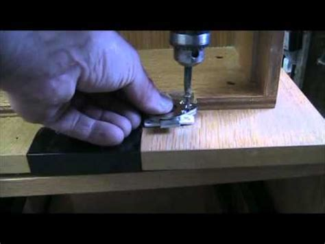 How To Put A Lock On A Drawer by Install Simple C D Or Drawer Lock On Wood Drawer Filing