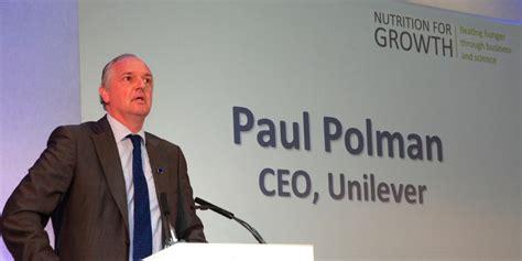 design engineering polman an open letter to paul polman unilever euler partners