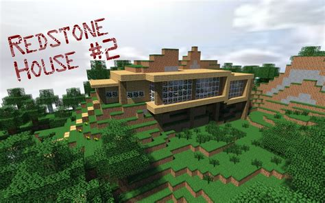Redstone House 2 Minecraft Project
