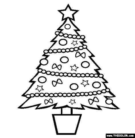 coloring book pictures of christmas trees christmas online coloring pages page 1