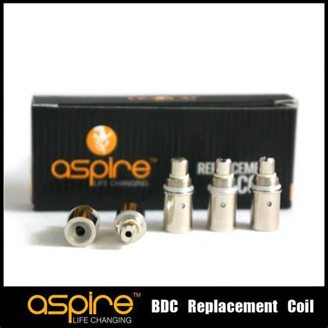 Aspire Bdc Replaceable Dual Coils 2 1 Ohm 5 wholesale 1 8ohm 2 1ohm replacement coil for aspire bdc atomizer bottom dual coil replacement