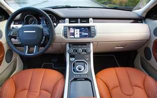 Land Rover Evoque Interior Future Channel Tv Inside The New 2013 Range Rover Evoque