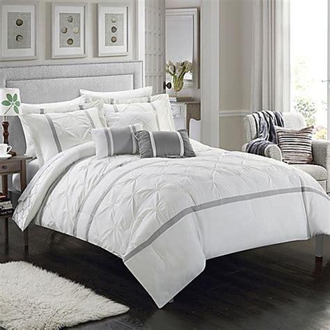 10 piece comforter set king buy chic home plymouth 10 piece king comforter set in