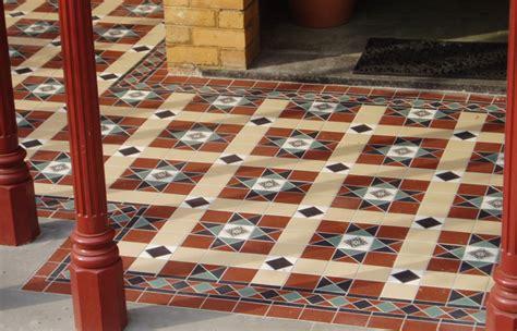 verandah tiles period tiles renovations tessellated bathroom and