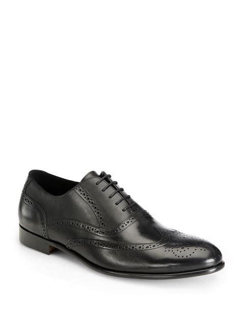 oxford dress shoe gordon pacific wingtip oxford dress shoe in black for
