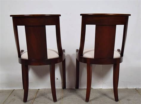 Set Of 12 French Antique Empire Dining Chairs At 1stdibs Empire Dining Chairs