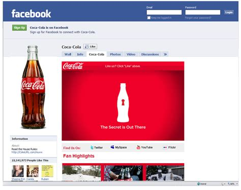 si鑒e social coca cola social media secrets of coca cola marketing insights for