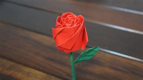origami rose tutorial youtube origami rose ideas youtube