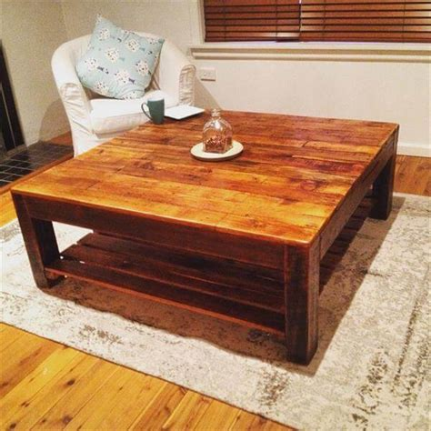 Home Made Coffee Table Vintage Inspired Pallet Coffee Table Pallet Furniture Diy