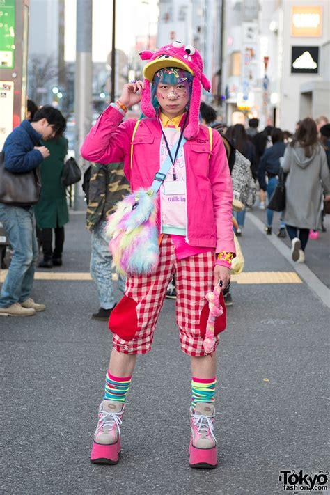 junnyan s pink kawaii harajuku style w hat