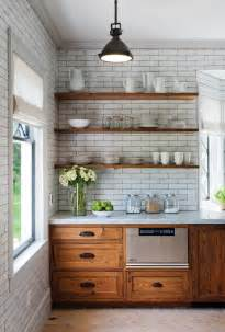 delightful Pendant Lights For Kitchen Island #7: Open-shelving-kitchen-rustic-kitchen-rustic-with-industrial-pendant-light-range-hood-white-subway-tile.jpg