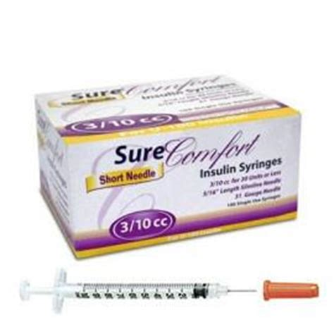 sure comfort syringes sure comfort insulin syringes u 100 insulin syringes