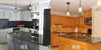 Kitchen Cabinets Before And After Painting kitchen cabinets before and after regarding painting kitchen cabinets