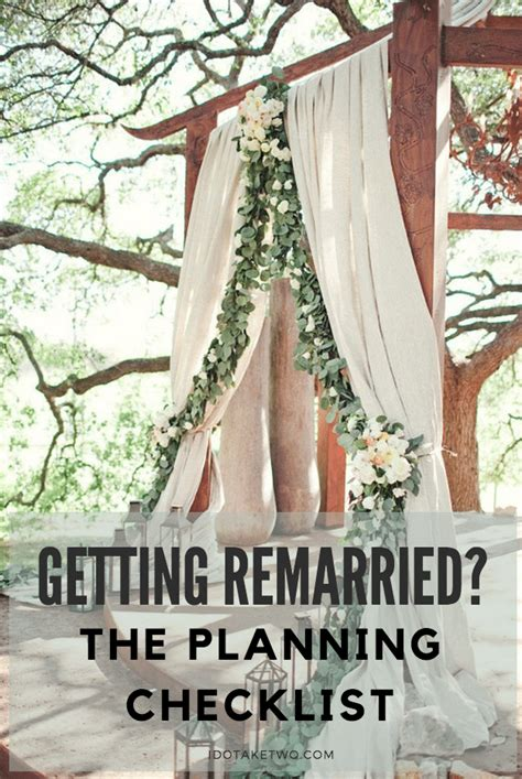 Marriage Planning Ideas by I Do Take Two Second Marriage Ceremony