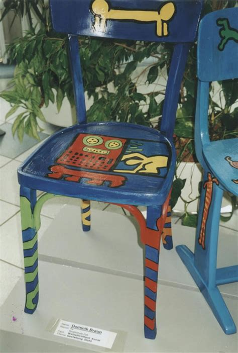 painted armchair painted chairs haringkids lesson plans