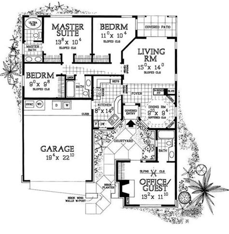 mother in law house floor plans house plans with mother in law suites country home plan