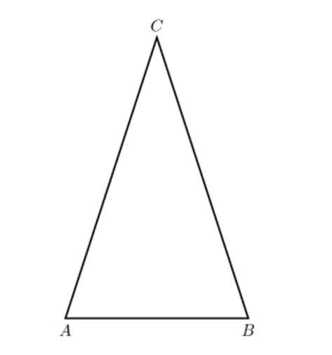 somma degli angoli interni di un triangolo isoscele problema di geometria triangolo isoscele 3 la risposta