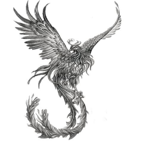 black and grey phoenix tattoo designs 52 black tattoos collection