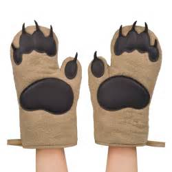 Cool Cups Bear Claw Oven Mitts The Green Head