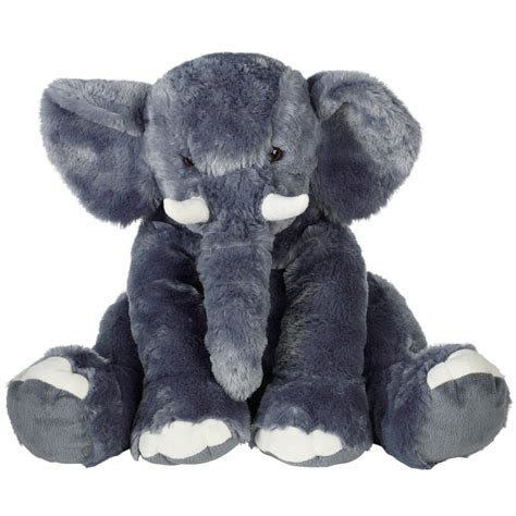 animal alley 15 5 quot elephant soft toy kids cuddly plush