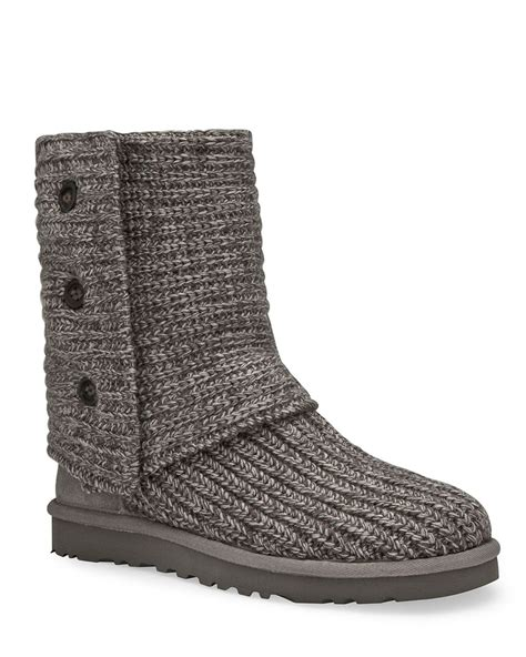 ugg australia classic cardy knit boot ugg 174 australia classic quot cardy quot knit boots