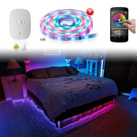 led interior lights home xkglow xk silver app wifi controlled home interior