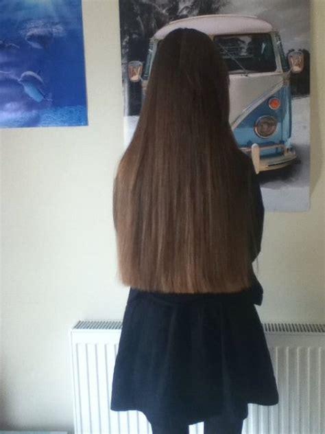 super long hair  tumblr