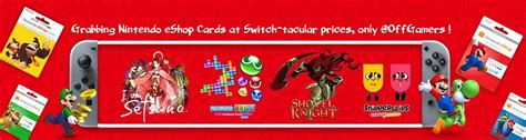 Eshop Gift Card Sale - grabbing nintendo eshop cards at switch tacular prices only offgamers offgamers blog