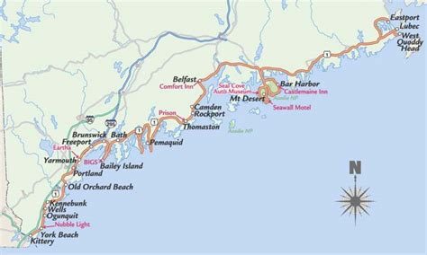 map of maine coast map of maine coast swimnova
