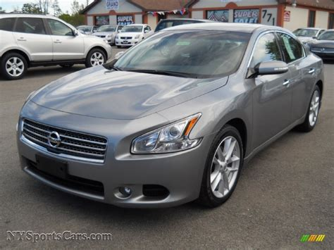 2009 Nissan Maxima 3 5 Sv In Precision Gray Metallic