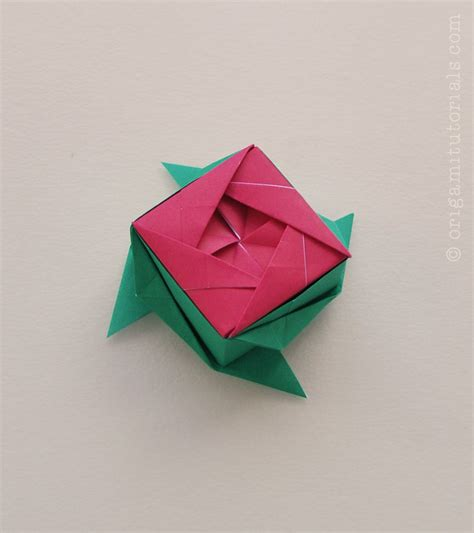 What Was Origami Used For - argyle kusudama tutorial origami tutorials