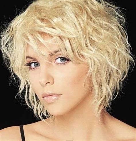 thin curly hair short haircuts short haircuts for wavy hair the best short hairstyles